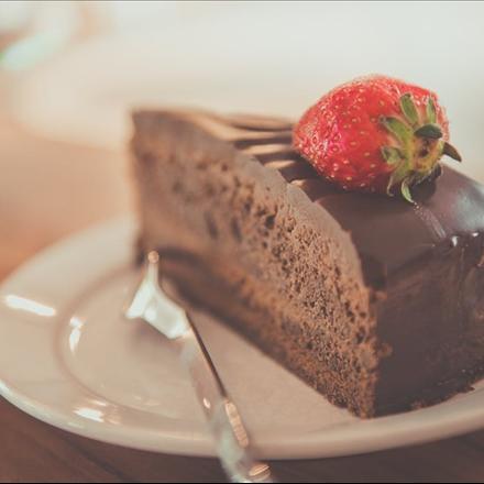 عکس کیک میوه ای