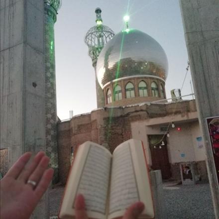آستان مقدس امامزادگان عبدا... و ابراهیم علیهما السلام شهر دامنه