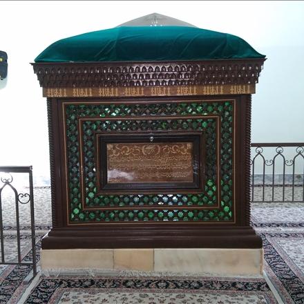 جایگاه خاکسپاری شهید مدرس در شهرستان کاشمر