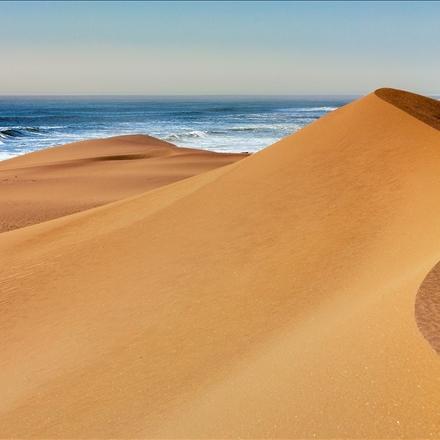 همنشینی کویر و دریا در چابهار