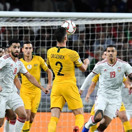 امارات و استرالیا در جام ملتهای آسیا
