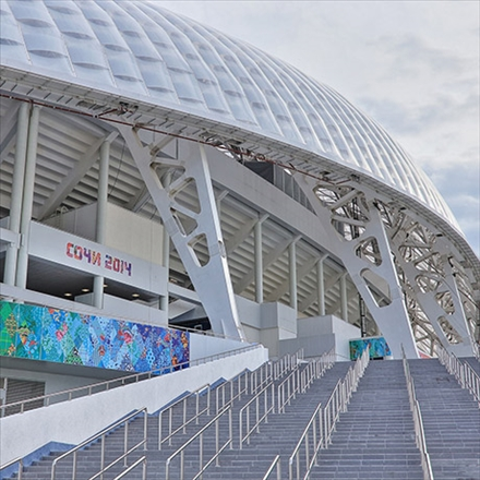 ورزشگاه المپیک فیشت روسیه/Fisht Olympic Stadium