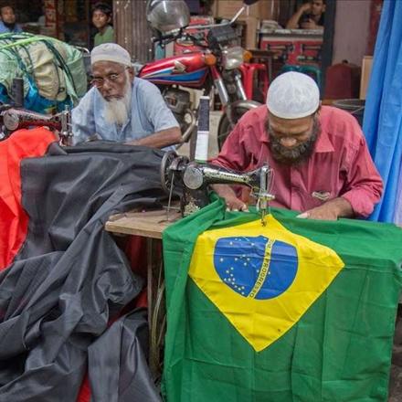 دوخت پرچم برای جام جهانی