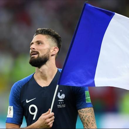تصاویر قهرمانی تیم ملی فرانسه در جام جهانی