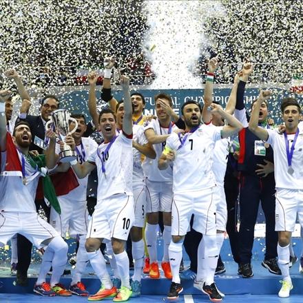 فوتسال قهرمانی آسیا