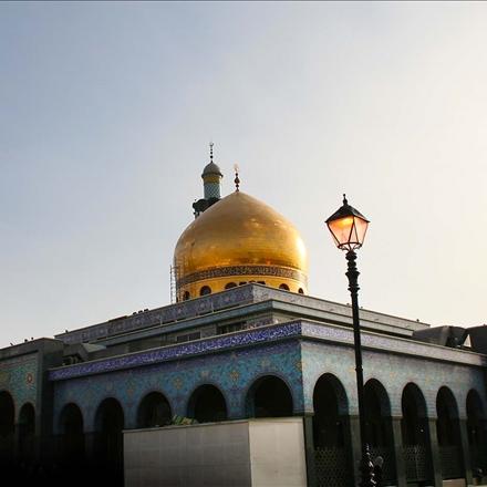 عکس باکیفیت ازحرم حضرت زینب کبری سلام الله علیها