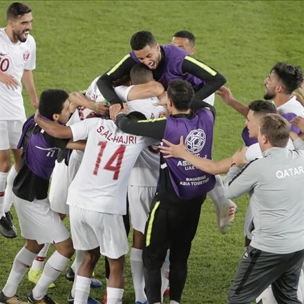 قطر و کره جنوبی در جام ملتهای آسیا