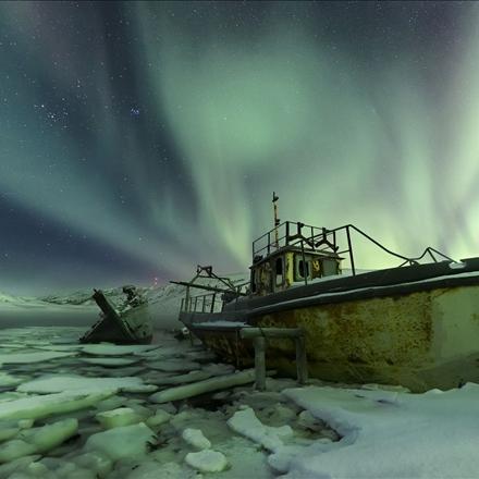 عکس منتخب نشنال جئوگرافیک/ساحل قطب