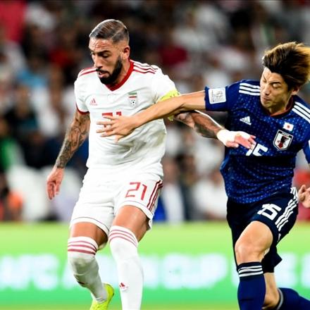 دیدار ایران و ژاپن در مرحله نیمه نهایی