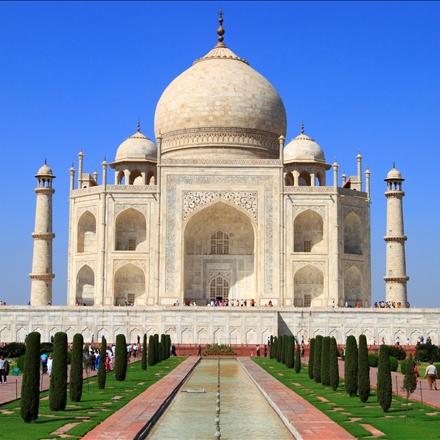 بنای تاج محل در هندوستان