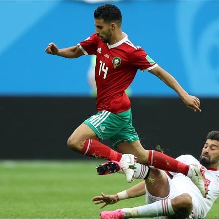 دیدار تیمهای ملی فوتبال ایران و مراکش