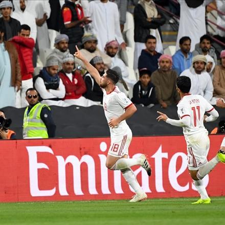 ایران و عمان در مرحله حذفی جام ملت های آسیا