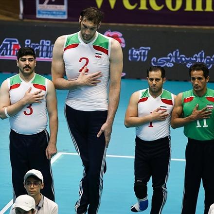 لیگ جهانی والیبال نشسته؛ ایران - آمریکا