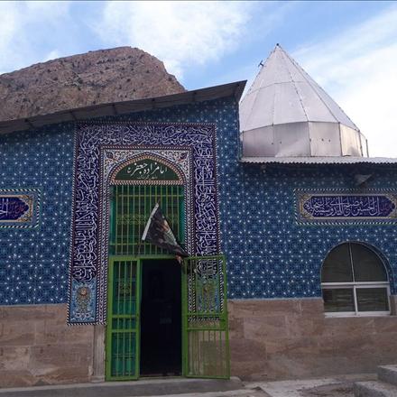 امامزاده جعفر(ع)شهر گزنک