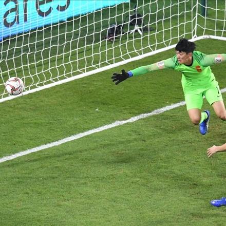 شکست چین در مرحله یک چهارم نهایی