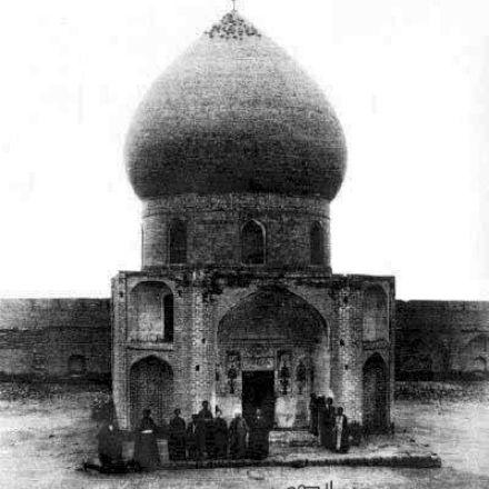 قدیمی ترین عکس حرم امام حسین علیه السلام