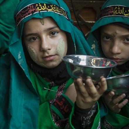 تعزیه و یاد تشنگی کودکان امام حسین علیهالسلام