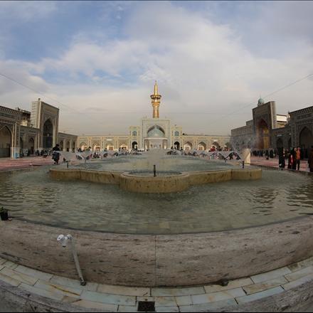 عکس صحن جمهوری اسلامی حرم امام رضا علیه السلام