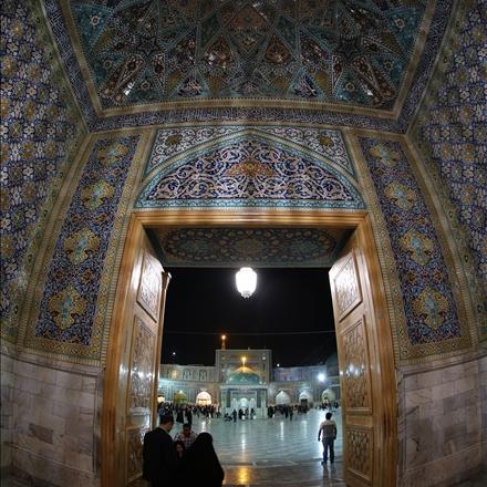 عکس ورودی صحن جمهوری اسلامی