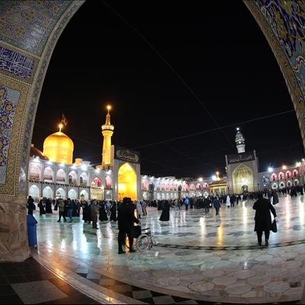 عکس صحن و سرای حرم امام رضا علیه السلام