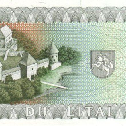 اسکناس های کشور لیتوانی