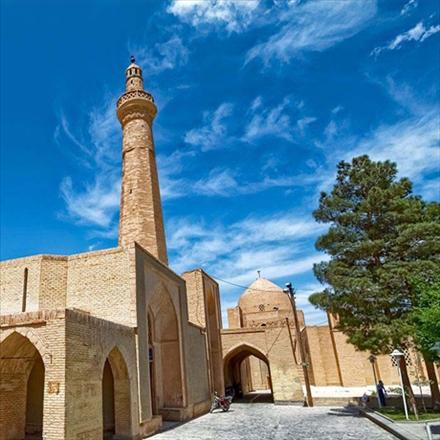 مجموعه تصاویر مسجد جامع نائین