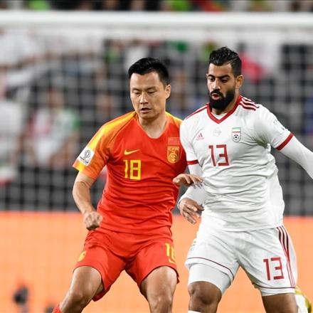دیدار زیبای ایران و چین در جام ملتهای 2019