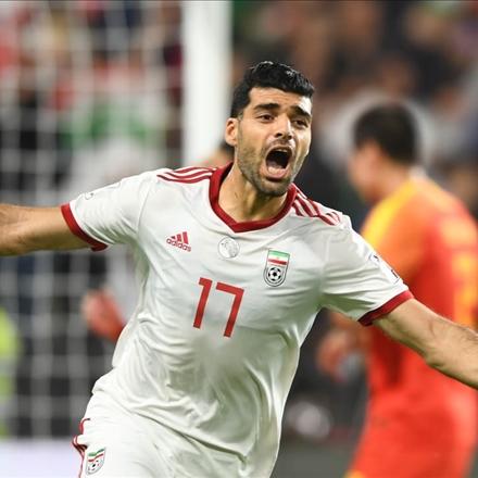 پیروزی ایران مقابل چین