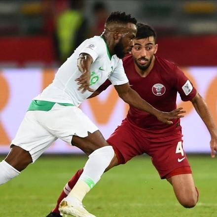 رقابت تیم ملی عربستان سعودی و تیم ملی قطر