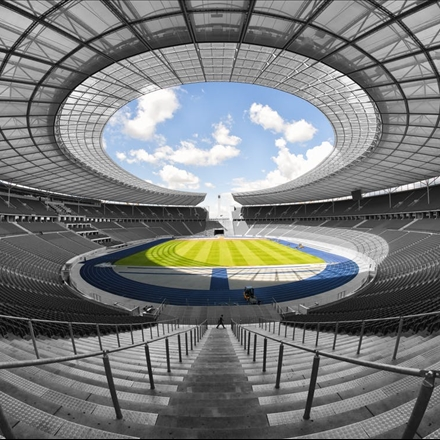 عکس استادیوم المپیک برلین
