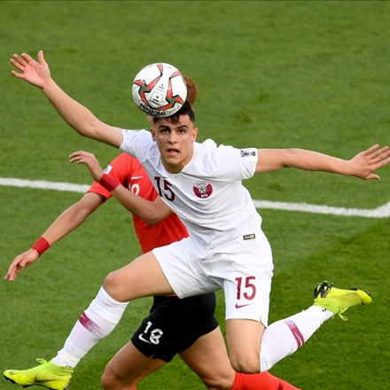 تیم ملی قطر مقابل تیم ملی کره جنوبی در جام ملتهای آسیا