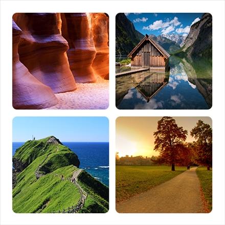 مجموعه تصاویری از منتظر طبیعی و کوهستان ها