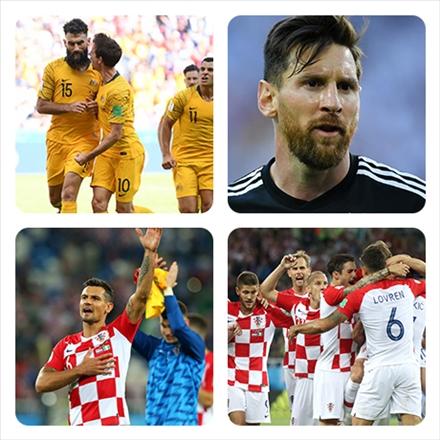 تصاویر منتخب جام جهانی 2018 روسیه-روز اول و دوم