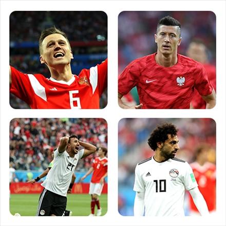 تصاویر منتخب جام جهانی 2018 روسیه-روز پنجم