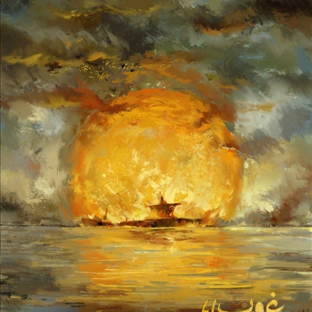 پوستر غروب دریاها