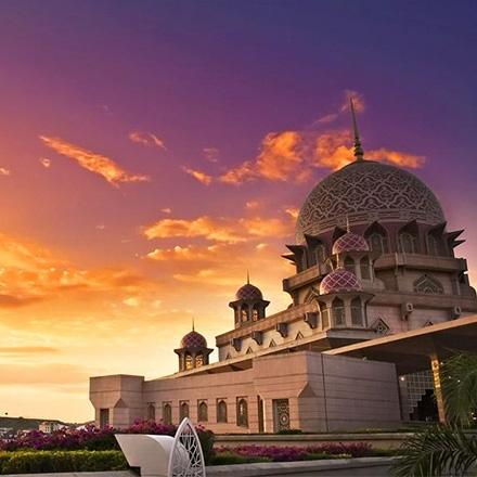 عکس مسجد جامع پوتراجایا مالزی