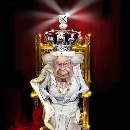 نمایشگاه کارتون و کاریکاتور آسوده باش، من ملکه ام