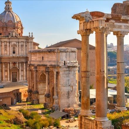 عکس میدان اصلی رم
