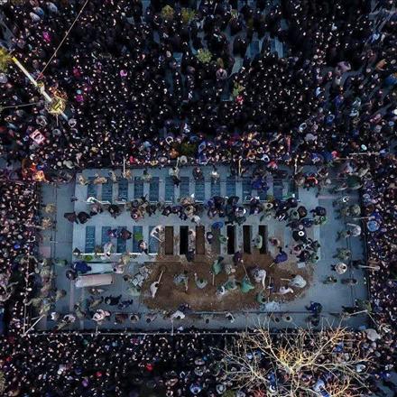 اصفهان ایستاده به احترام یاران خرازی