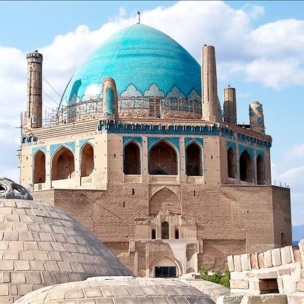 عکس گنبد سلطانیه