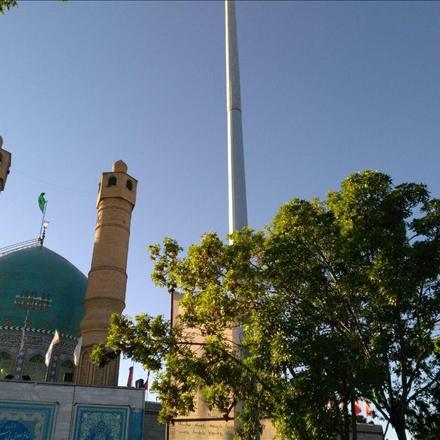 زیارتگاه بی بی سکینه تهران صفا دشت