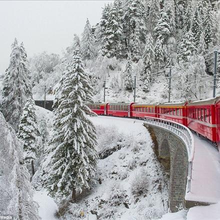 عکس روزهای برفی