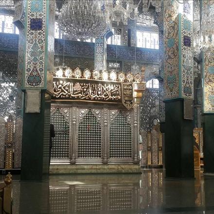 عکس حرم حضرت زینب سلام الله علیها