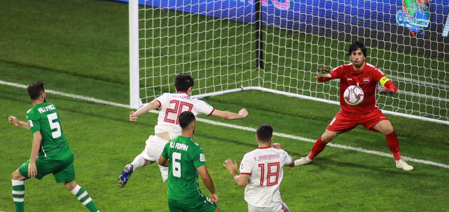 بازی بدون گل ایران و عراق
