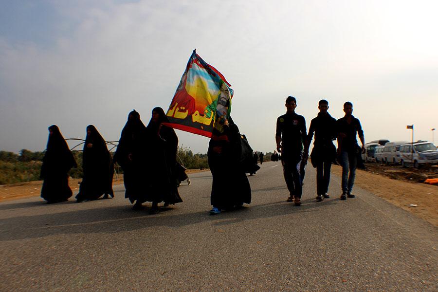 Arbaeen walking