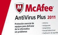 آنتی ویروس مک آفی McAfee AntiVirus Plus 2011 V.4.5.147
