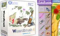 خلق تصاویر دیجیتالی و نقاشی با کامپیوتر با Wizard Brush 6.7.7.3