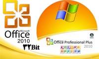آفیس 2010 نسخه 32 بیتی Microsoft Office 2010 Professional Plus v.14.0.4763.1000 Final VL Edition x86