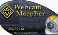 ارسال تصاویر جعلی به وبکم با AV WebCam Morpher 2.0.44