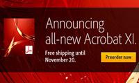 دانلود Adobe Acrobat XI Professional v11.0.15 - نرم افزار ادوب اکروبات، ساخت و مدیریت فایل های پی دی اف